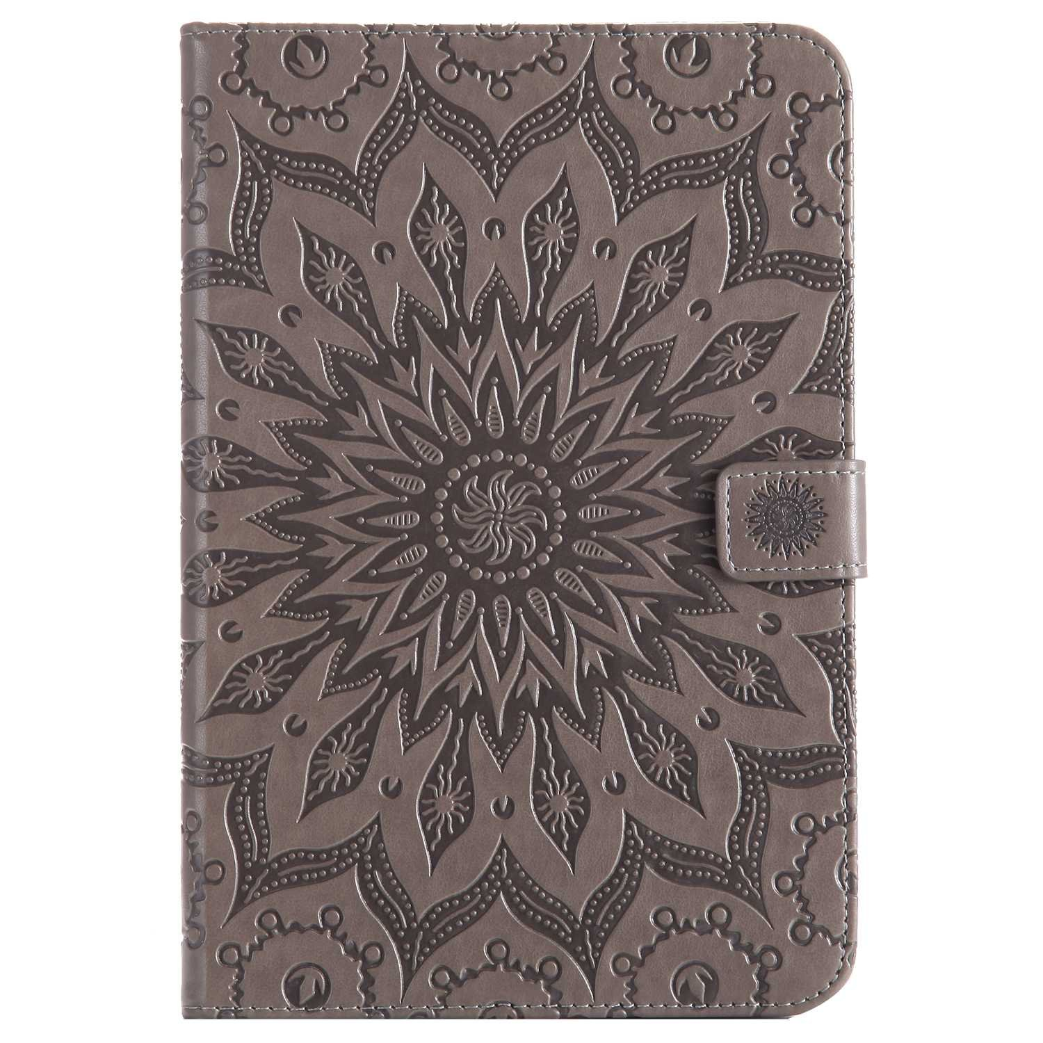 Bear Village Galaxy Tab a 8.0 Inch Case, Anti Scratch Shell with Adjust Stand, Full Body Protective Cover for Samsung Galaxy Tab a 8.0 Inch, Gray by Bear Village