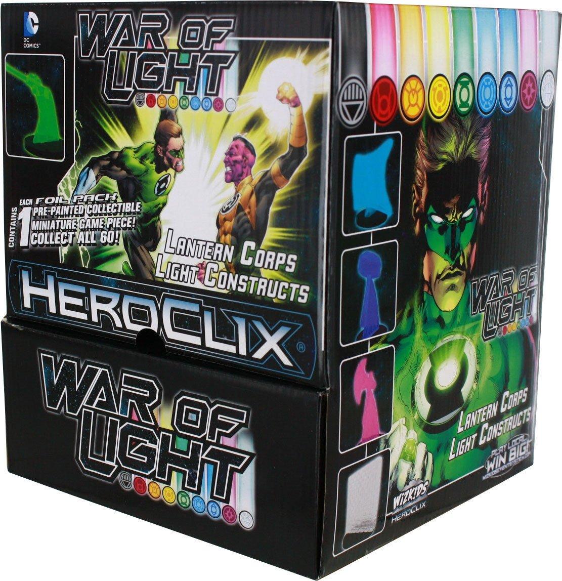 DC Heroclix: Krieg des Lichts konstruiert Gravity Feed