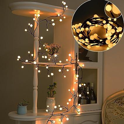 Amazon.com: solled Globe Cadena, luces para colgar en la ...
