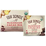 FOUR SIGMATIC Mushroom Hot Cacao Mix with Cordyceps (10 Packets), 6 g