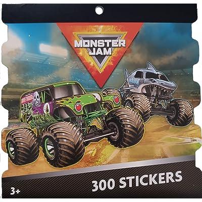 MonsterJam Stickers: Toys & Games