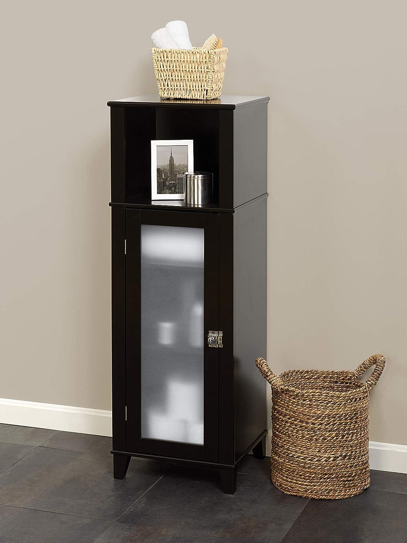 Espresso E8858CH Zenna Home Classic Linen Cabinet