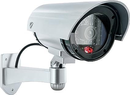 Schwaiger HSD100 511 Gris Bala cámara de seguridad ficticia - Cámaras de seguridad ficticias (Bala