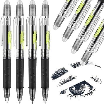 12 Löschbar Stift Löschbar Kugelschreiber Tintenroller 0.5mm schreiber Marker
