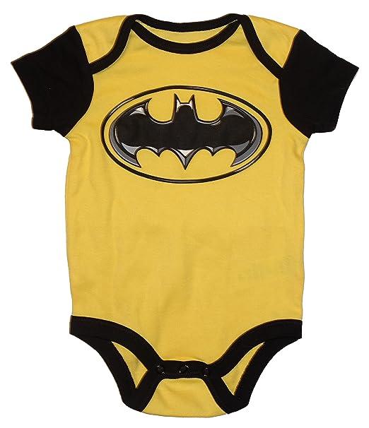75ad3426 Amazon.com: DC Comics Batgirl/Batman Logo Baby Boys & Girls Bodysuit Dress  Up Outfit: Clothing