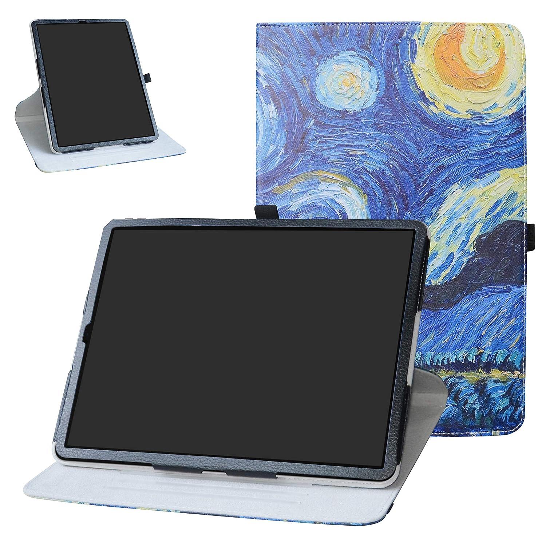 【1着でも送料無料】 Bige 12.9インチ 10001855-5 360度回転スタンド かわいいパターンカバー付き 12.9インチ iPad Pro 12.9インチ 2018用 10001855-5 12.9インチ スターリーナイト(Starry Night) B07L6WD1J1, ウゴマチ:062deb66 --- a0267596.xsph.ru