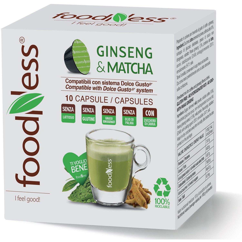 10 Cápsulas de Ginseng & Matcha Foodness. Compatibles con ...