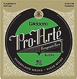 D'Addario Cordes en nylon composite translucide pour guitare flamenco D'Addario Pro-Arte EJ25C