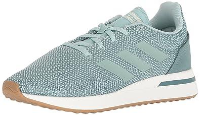 adidas Women s Run70S Running Shoe ash raw Green 413bc21f0