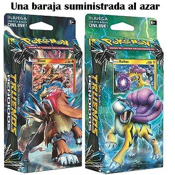 Pokemon JCC Sol y Luna: Truenos Perdidos Español (1 baraja al Azar), Color (Pokemon Company POSMLT01