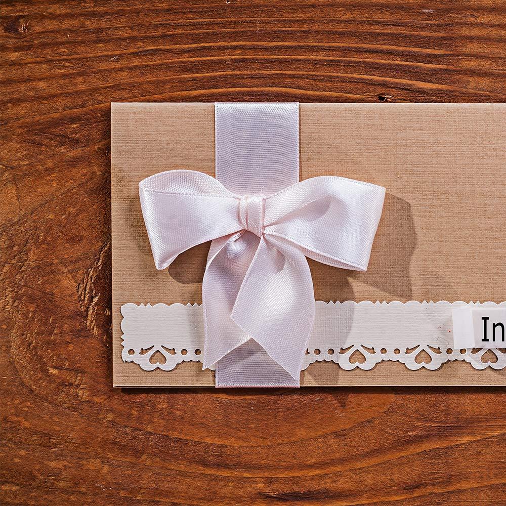 FEPITO 10 Pack Cinta de raso Paquete de cinta de doble cara Cinta surtida para Navidad Decoraci/ón de regalo de acci/ón de gracias Artesan/ía Envoltura de florister/ía 25 mm x 4 m