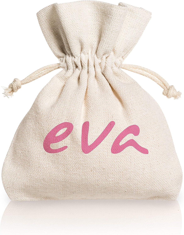Dulàc Copa Menstrual Super Soft, Cómoda en cualquier situación, segura y ecológica, Bolsa de Algodón Natural incluida, 100% Made in Italy, Eva (Large, ...