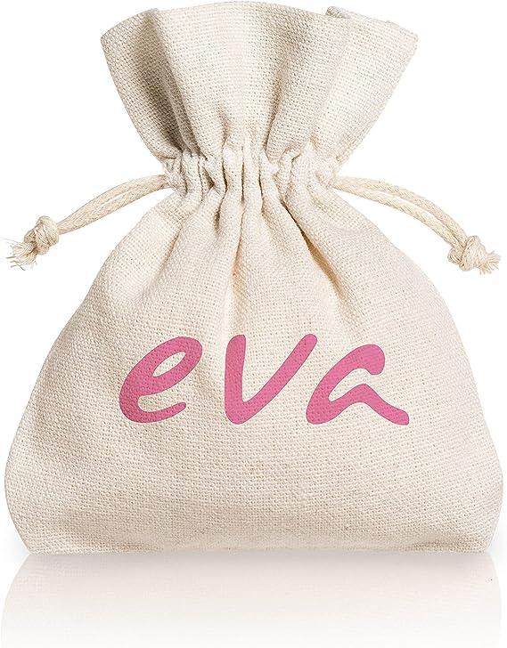 Dulàc Copa Menstrual Super Soft, Cómoda en cualquier situación, segura y ecológica, Bolsa de Algodón Natural incluida, 100% Made in Italy, Eva (Small, ...