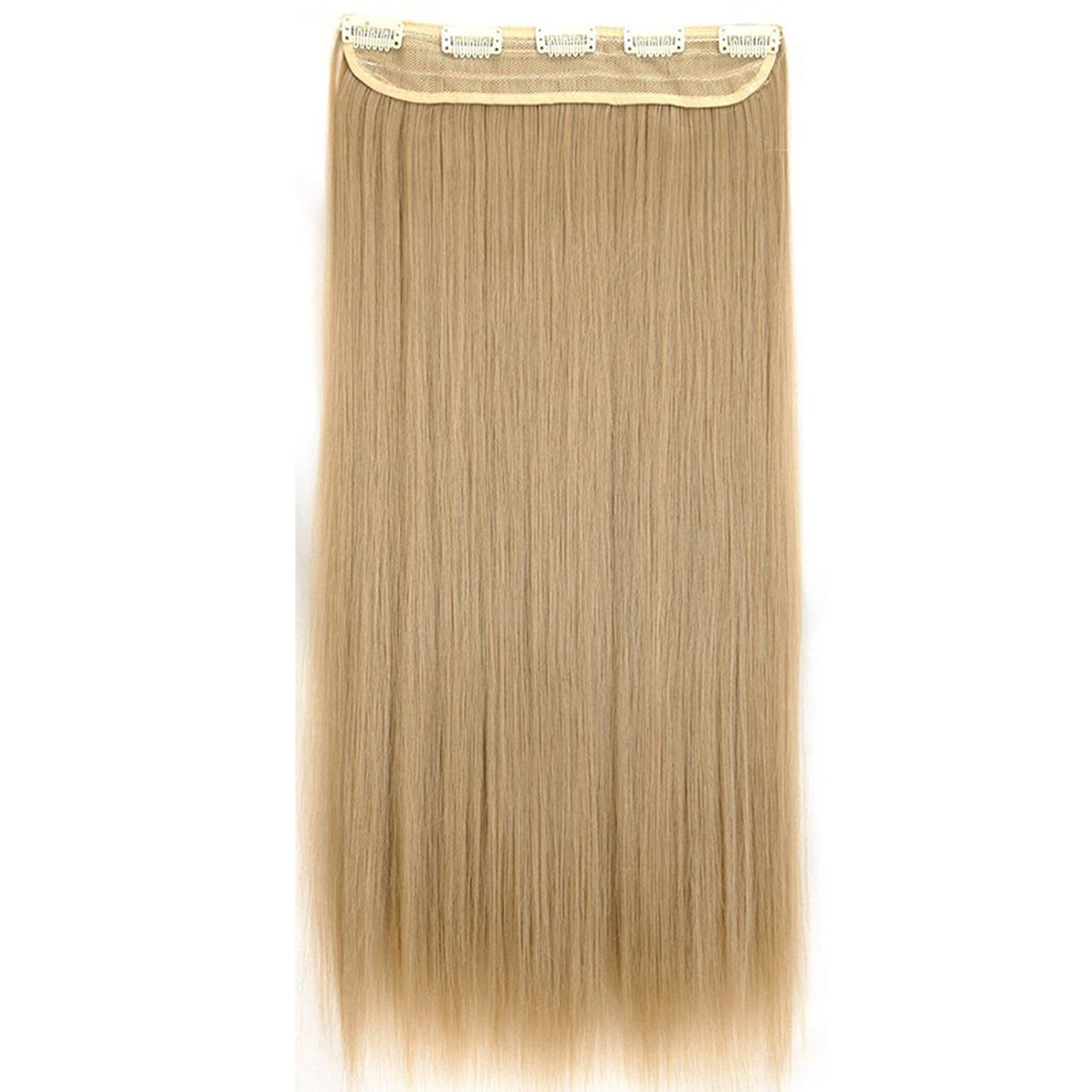 Amazon s noilite 17 curly ash blonde clip in hair extension s noilite trendy 2426 straight curly 34 full head pmusecretfo Gallery