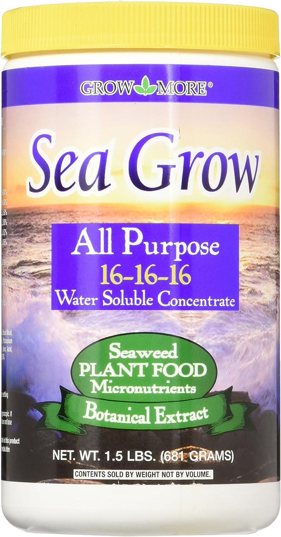 Grow More 6090 Sea Grow 16-16-16, 1.5-Pound