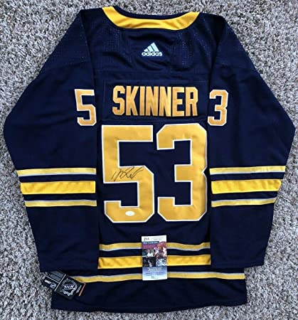 newest 15a76 a60f7 Jeff Skinner Autographed Signed Memorabilia Buffalo Sabres ...