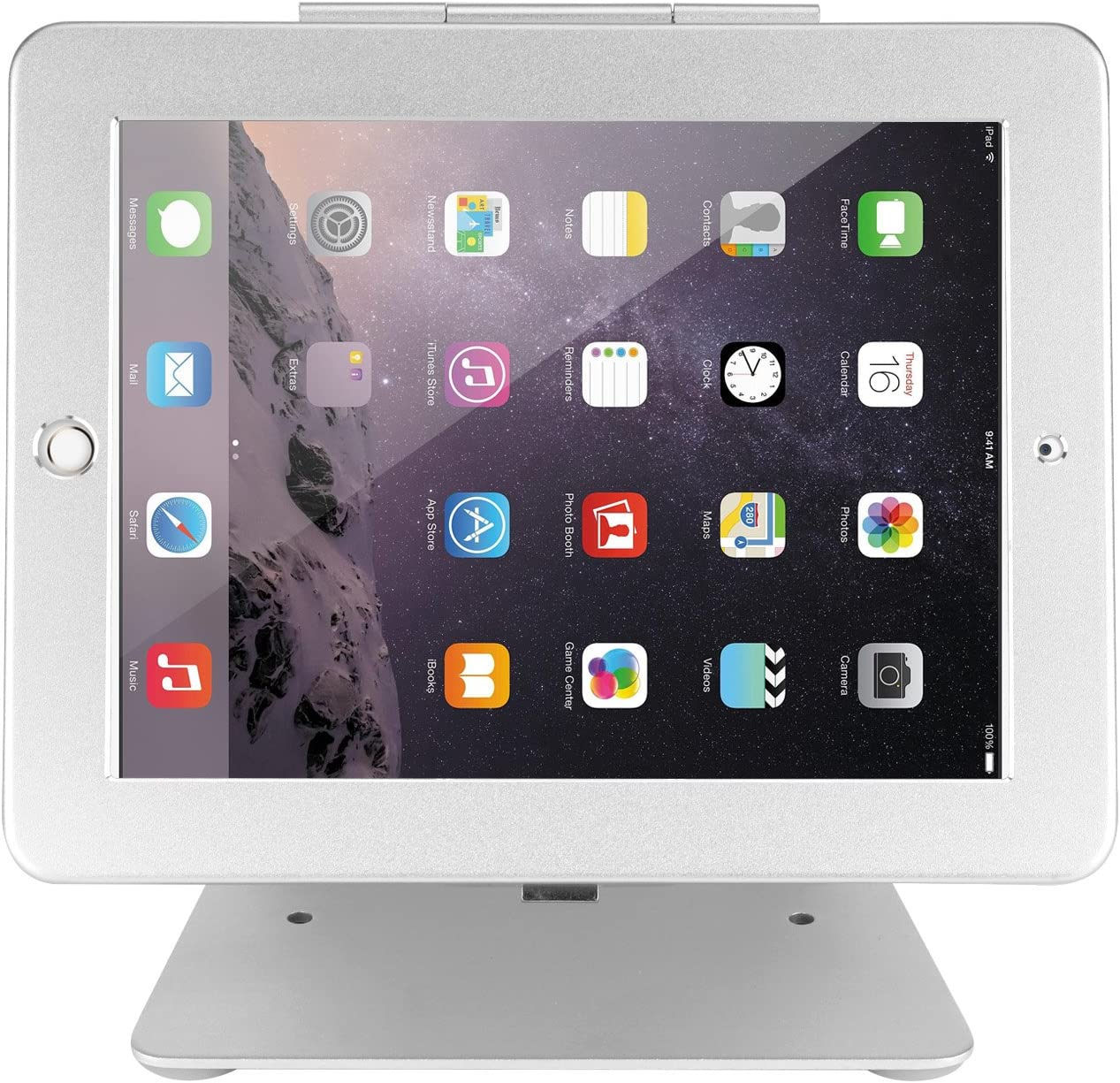 "Wall Mount iPad 2//3//4//Air//Air2// iPad Pro 9.7/"" Lockable Counter Top"