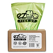 EZ Pickup Bags Green