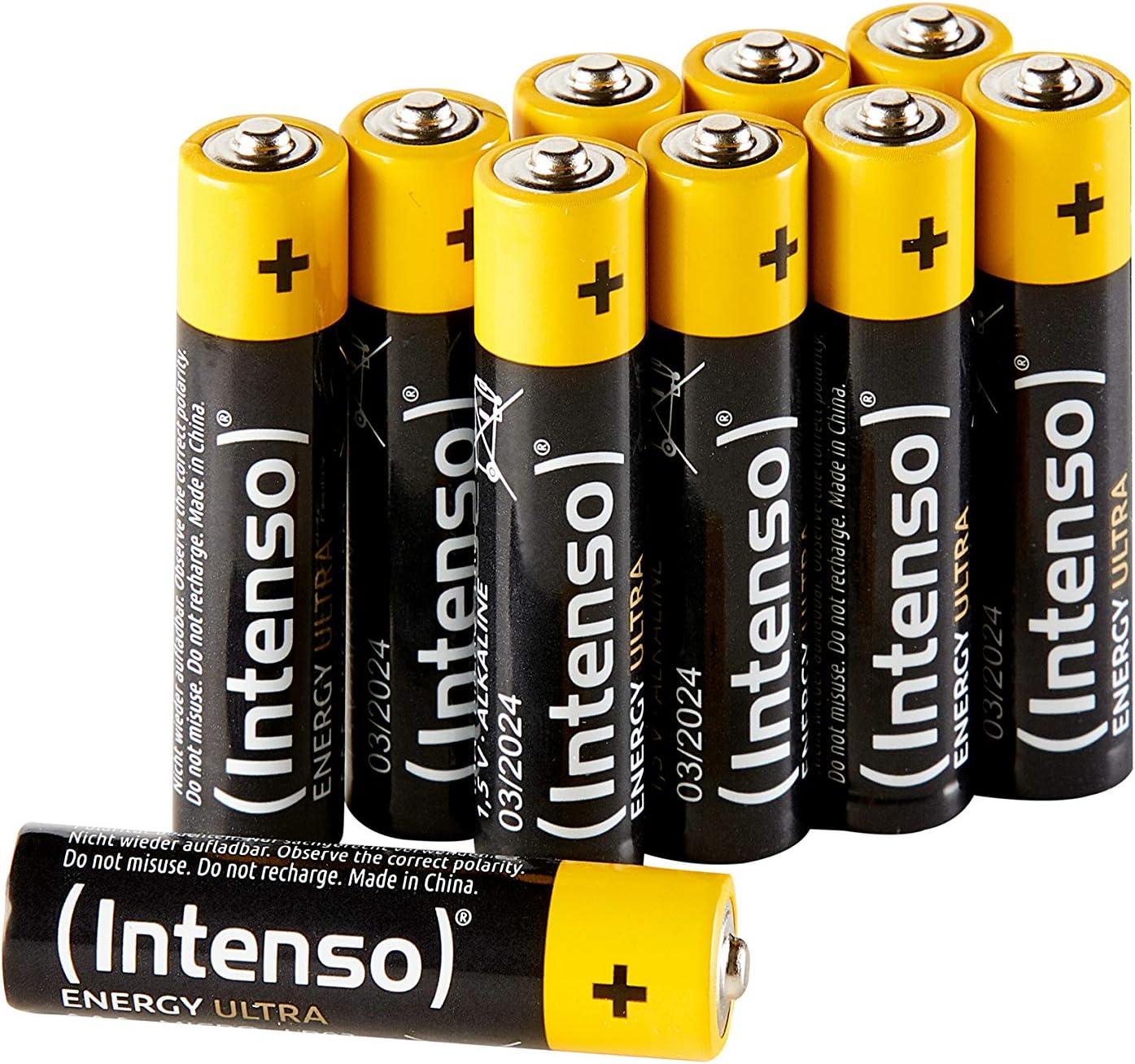 Intenso Energy Ultra Aaa Micro Lr03 Alkaline Batterien Elektronik