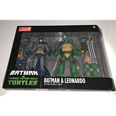 DC Collectibles Batman VS TMNT - Batman & Leonardo: Toys & Games