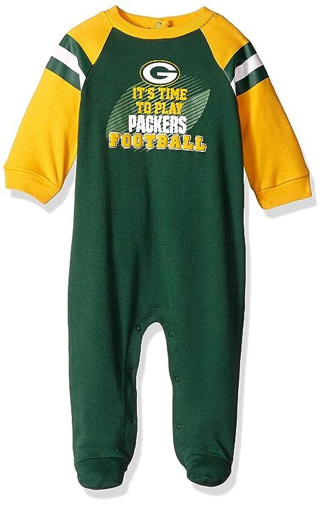 Amazon Com Nfl Green Bay Packers Unisex Baby Sleep N Play Green