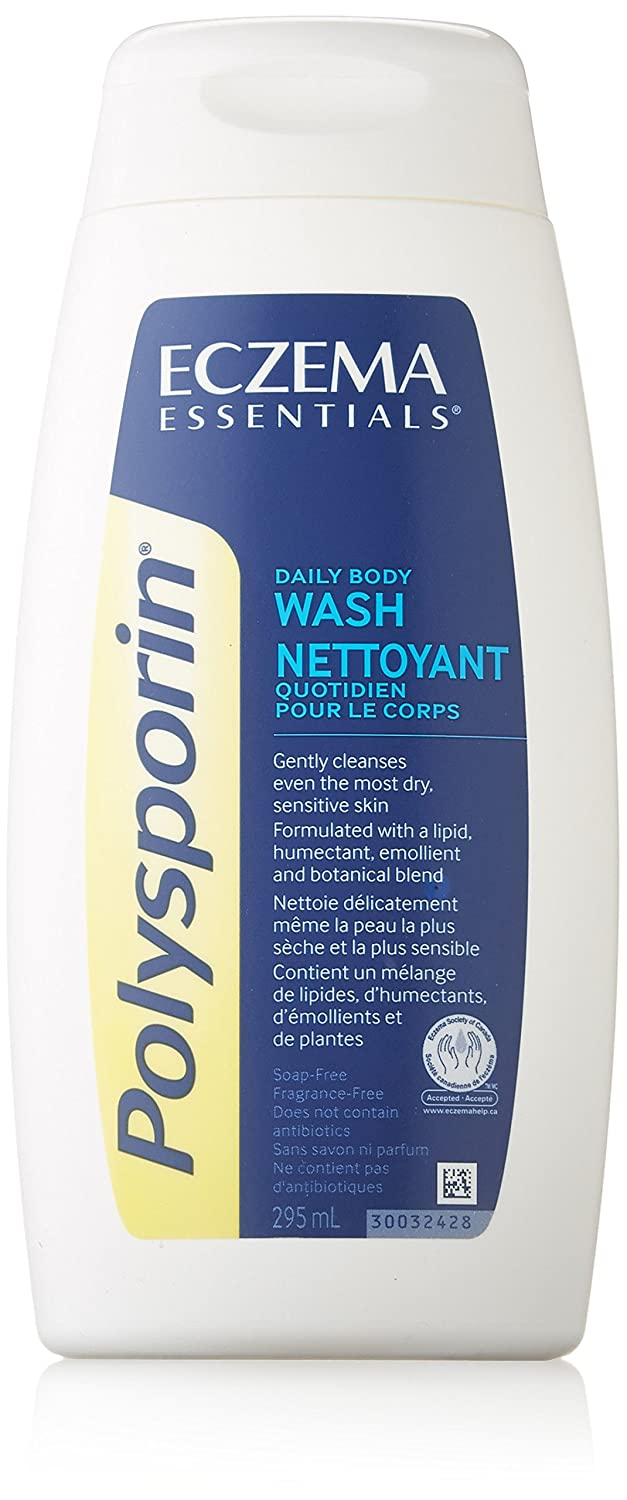 Polysporin Eczema Body Wash, 295ml Neutrogena