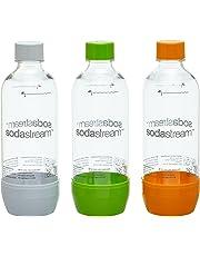 SodaStream 1041340490 Pet-Flasche 2 + 1, grau
