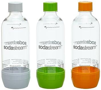 SodaStream Twinpack PET Botella para bebida carbonatada - Accesorio para máquina para soda: Amazon.es: Hogar