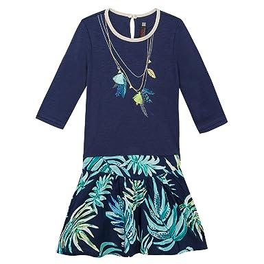 74de5a6fc Catimini CJ30105, Vestido para Niños, Azul (Indigo 48), años (Tallas ...