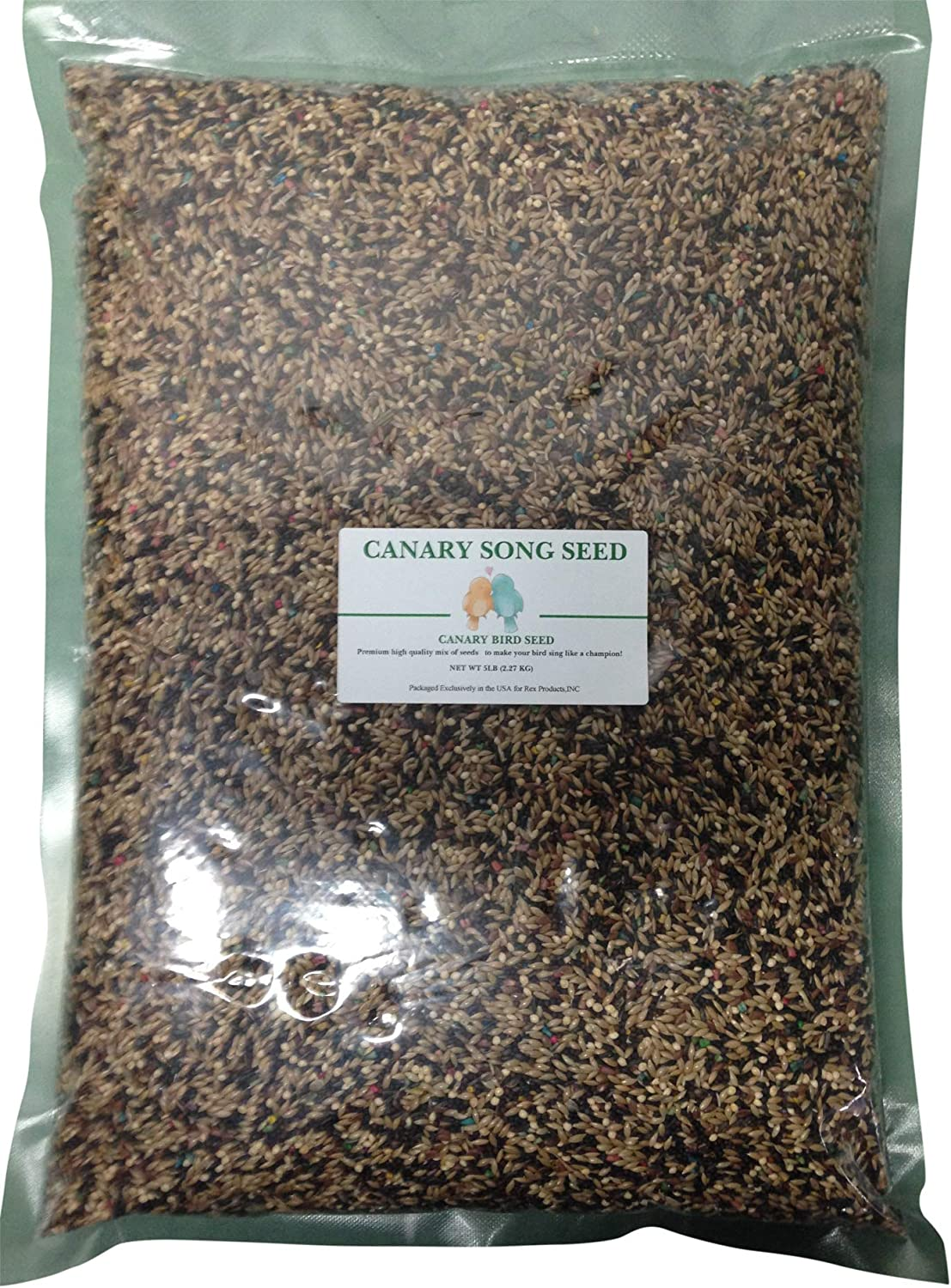 Rex Products,INC Canary Song Seed 5lb-Improve Singing
