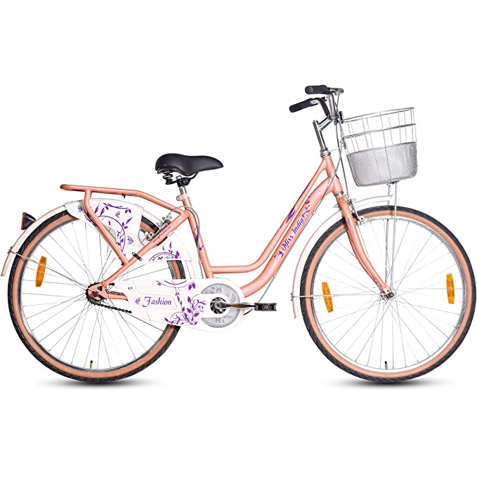 Hero Fashion 26T Single Speed Cycle Comfort Bikes