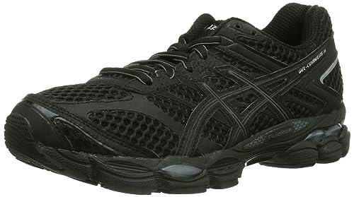 ASICS Gel-Cumulus 16 - Zapatillas de running para mujer, color negro (black/onyx/silver 9099), talla 43.5: Amazon.es: Zapatos y complementos