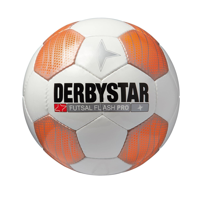 Derbystar Flash Pro - Balón de fútbol para Juego en Interiores ...
