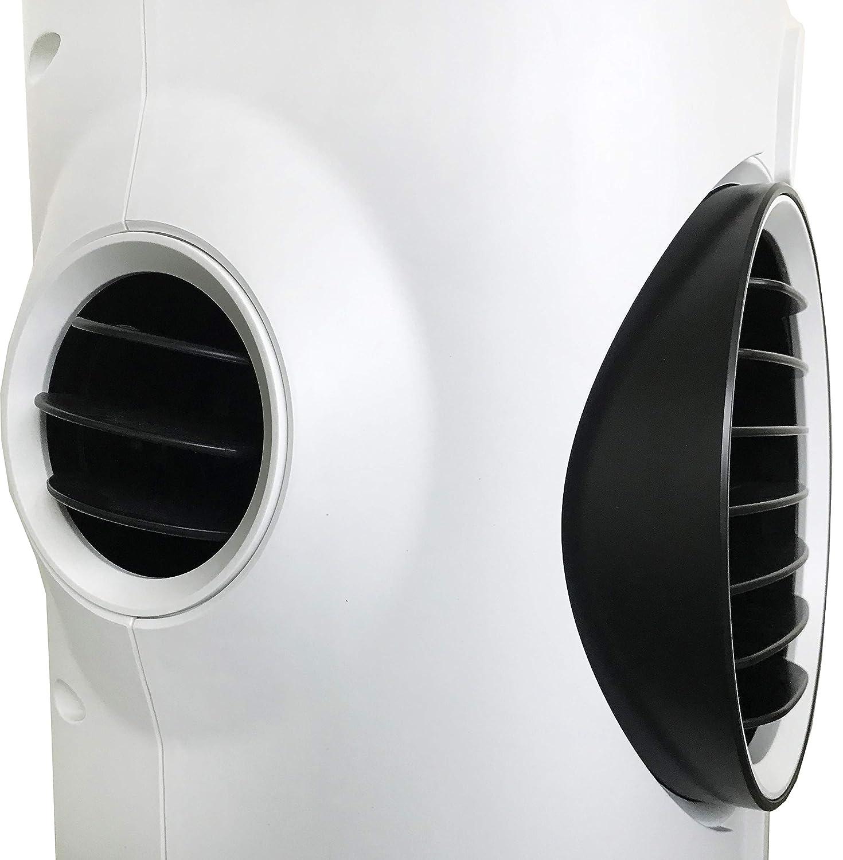 Argo Polifemo Teddy Bianco Raffrescatore Evaporativo Doppio Sistema di Filtrazione dellAria 3 Velocit/à di Ventilazione