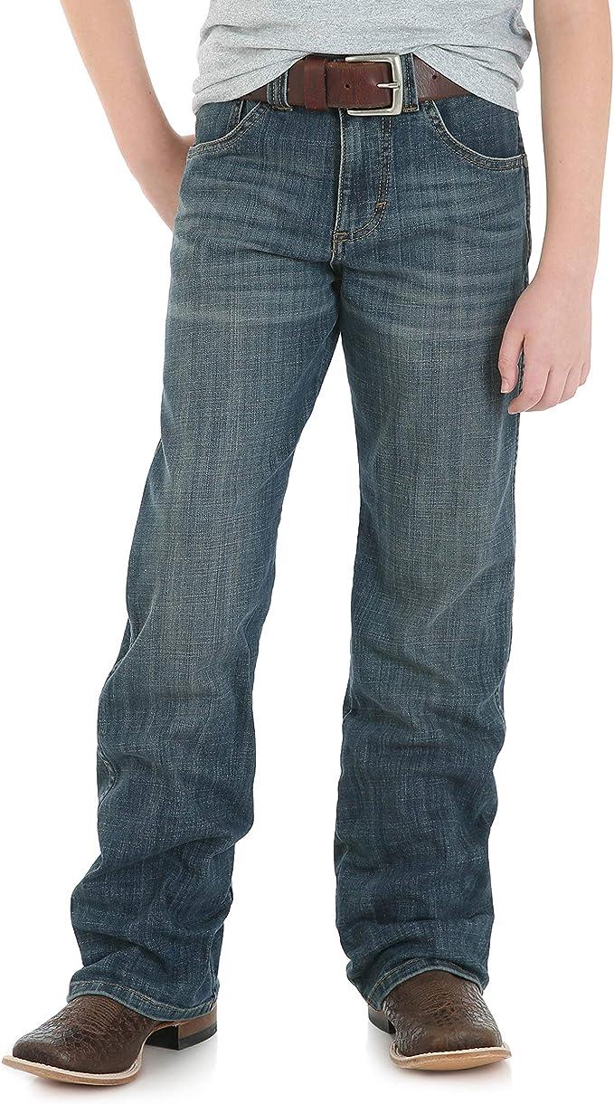 Black, 2T Wrangler Authentics Boys/' Relaxed Straight Jean