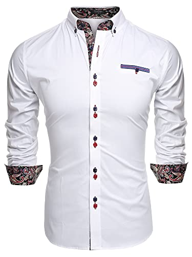 81PRdcwK1VL. UY500  - 4 Awesome No Tuck Dress Shirts for Men