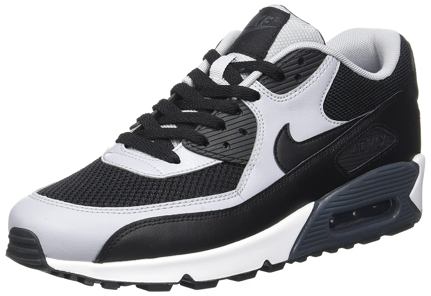 NIKE Men's Air Max 90 Essential Running Shoe B019STI258 7.5 D(M) US|Black/Wolf Grey/Anthracite