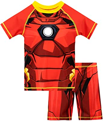 Marvel Bañador de Dos Piezas para niño Iron Man