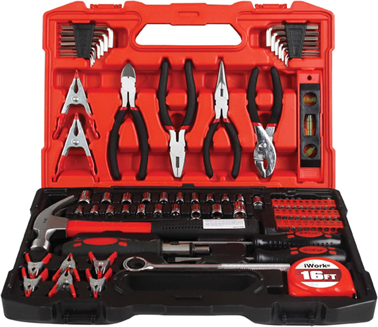 Olympia Tools All stores are online shop sold 80-789 Tool 90-Piece Black Set
