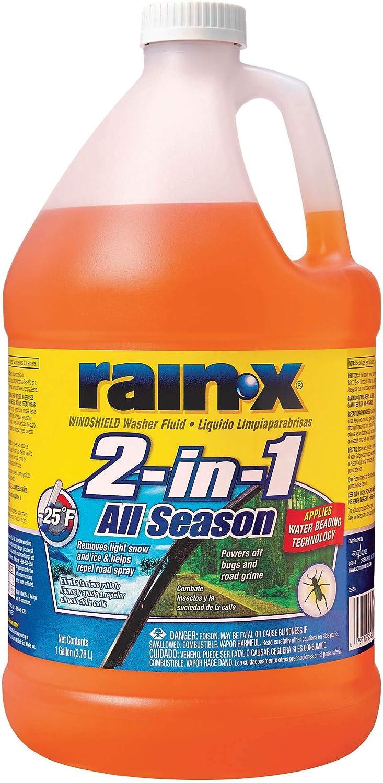 Rain X 2 in 1 All Season Washer Fluid