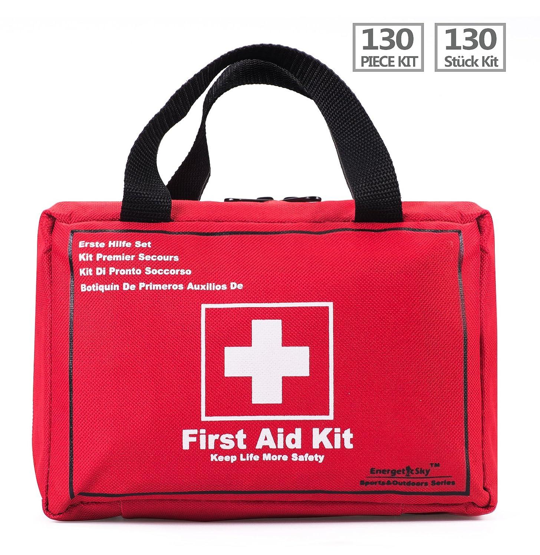 Botiquín de Primeros Auxilios de Artículos Kit Supervivencia Para el Coche Hogar