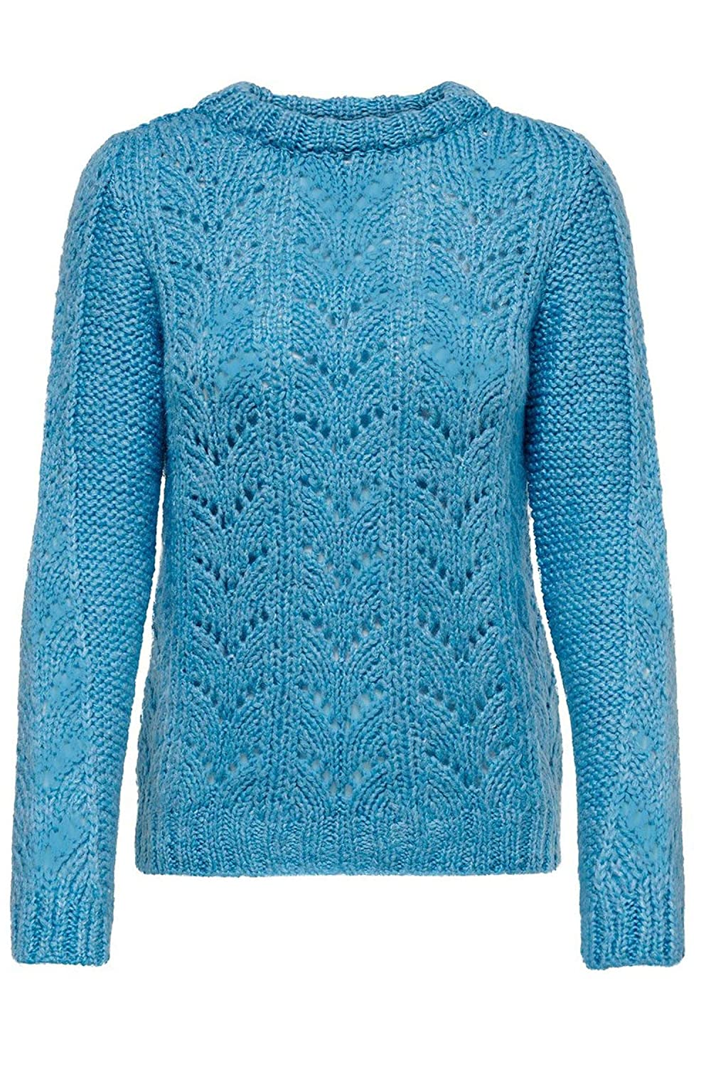 Only Women's 15179854LIGHTblueE Light bluee Acrylic Jumper