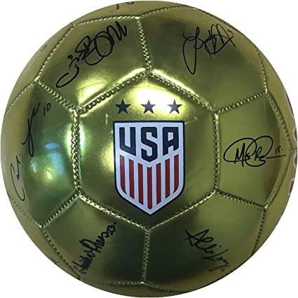 Red World Cup Soccer United States USWNT Soccer Ball Size 2