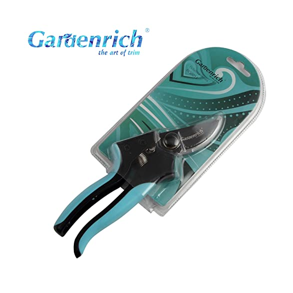Amazon.com : Gardenrich Professional Bypass Pruning Shears Handheld ...
