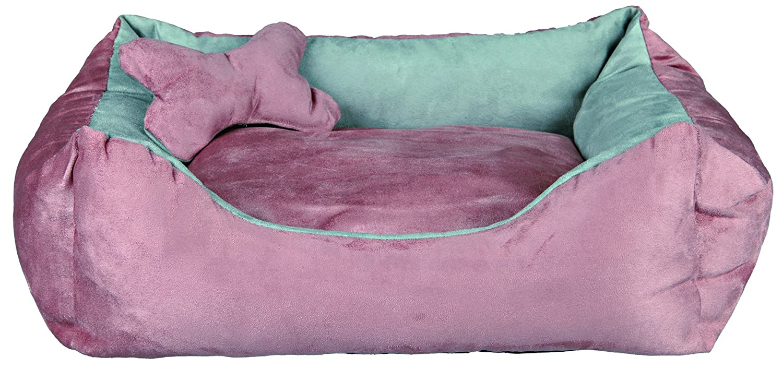 Trixie 37491 Chippy perro cama 50 × 40 cm rosa/gris: Amazon.es: Productos para mascotas