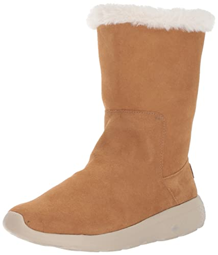 Skechers On the Go City 2 Hibernate Black Suede Womens Boots
