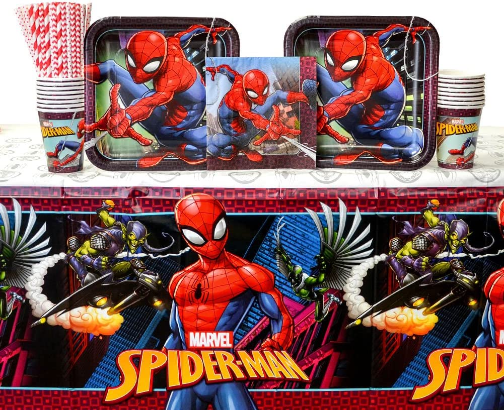 Spiderman Party Bundles for 16 Guests