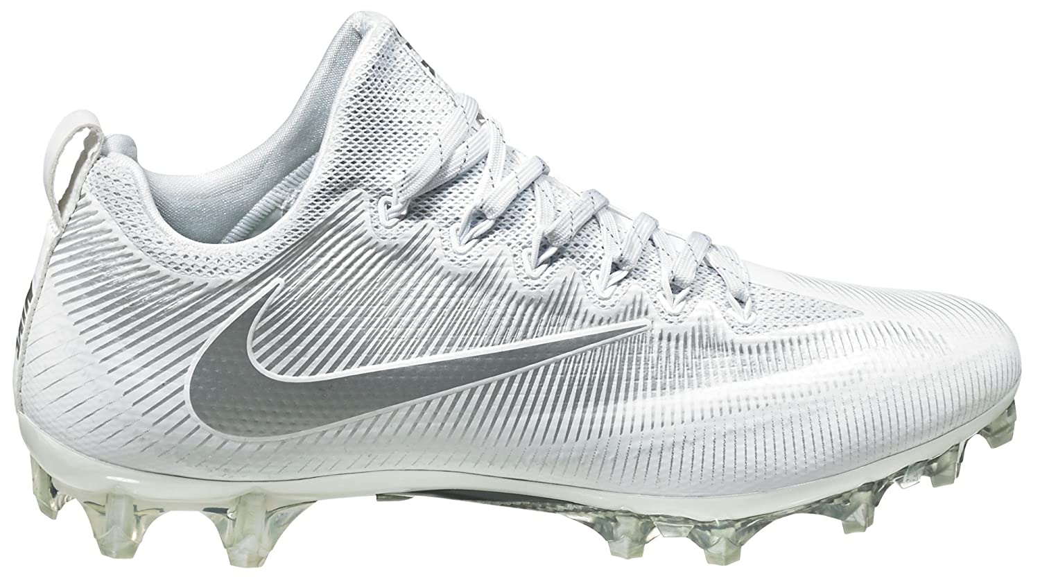 New Nike Vapor Carbon Pro 15 Football Cleat Men/'s 11 Black White Silver 833385
