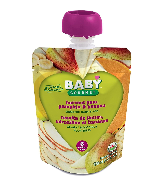 Baby Gourmet Harvest Pear Pumpkin Banana, 12 Count Baby Gourmet Foods Inc HPPB4BGCSCD0012