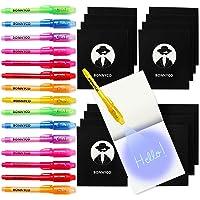 BONNYCO Bolígrafo Tinta Invisible y Libreta Pack x 16 Cumpleaños Niños Colegio, Detalles Cumpleaños Infantiles o Relleno…